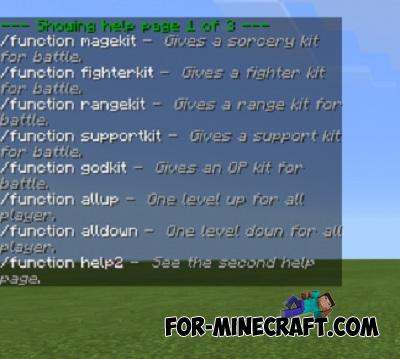 Simple Kits Addon for Minecraft PE 1.11