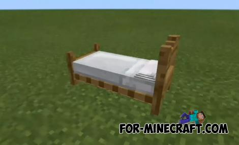 Headboard Beds Addon for MCPE 1.9/1.10+