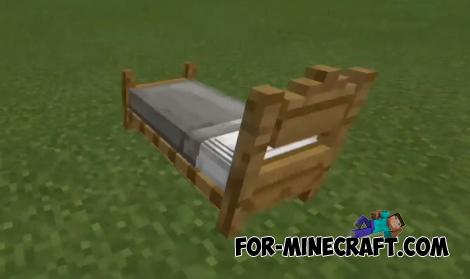Headboard Beds Addon for MCPE