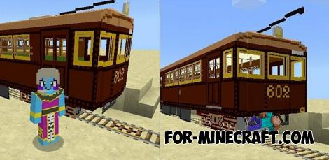 Trains Addon for Minecraft PE 1.9.1/1.10.0.3