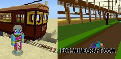 Trains Addon for Minecraft PE