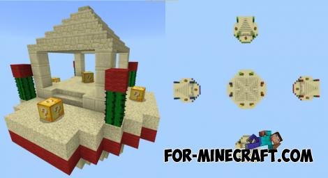 Lucky SkyWars Map for Minecraft PE 1.10
