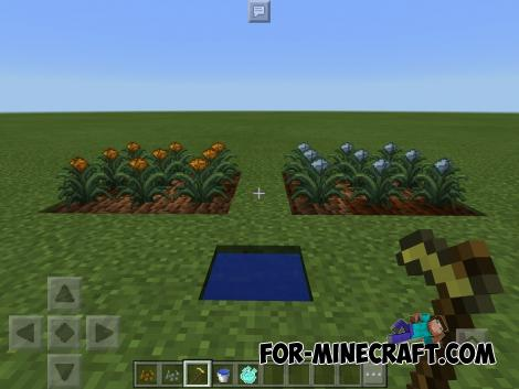 Magical Crops Lite Mod for Minecraft PE