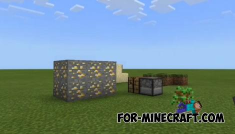 Flat World Survival Mod for Minecraft PE