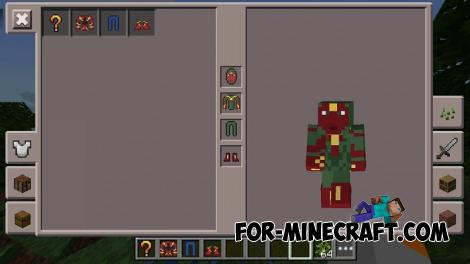 SuperHeroes Mod for Minecraft PE