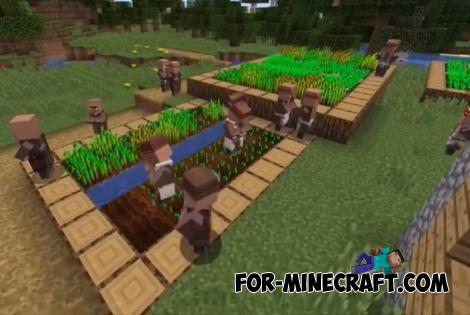 Structures Generator Addon for Minecraft PE 1.10