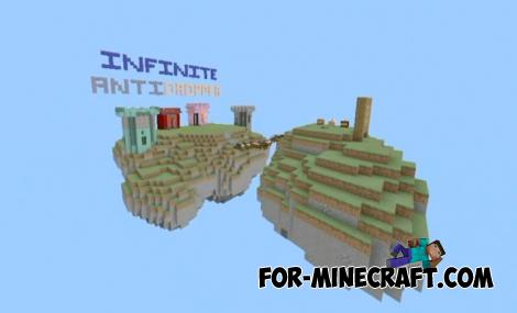 Infinite AntiDropper Map for Minecraft PE 1.10