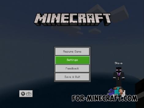 Settings Addon for Minecraft PE 1.10+