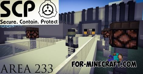 SCP - Area 233 Map for Minecraft PE