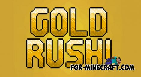 Gold Rush Addon (New Machines) for MCPE 1.10.0.4