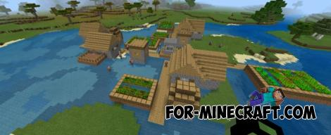 Village On the Lake Seed for Minecraft PE 1.10