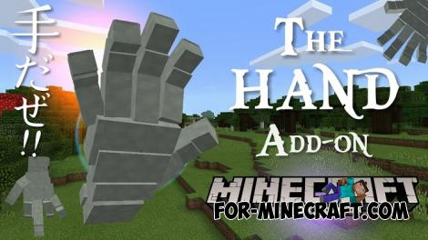 The Hand Mini Boss for Minecraft PE 1.10