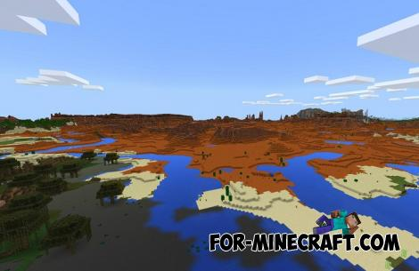 Nine Biomes Seed for Minecraft PE 1.10
