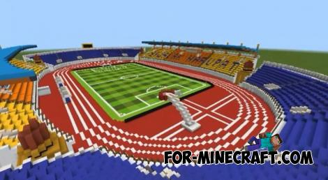 Jalak Harupat Stadium Map for Minecraft PE