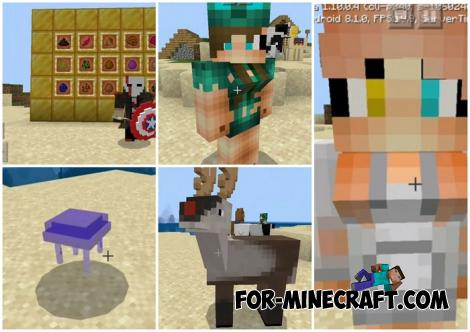 Addon Pack for Minecraft PE 1.10