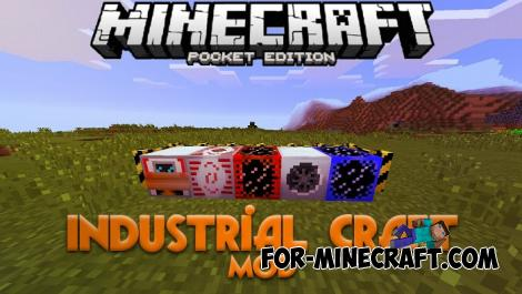 IndustrialCraft PE Mod 2.0 for Minecraft PE