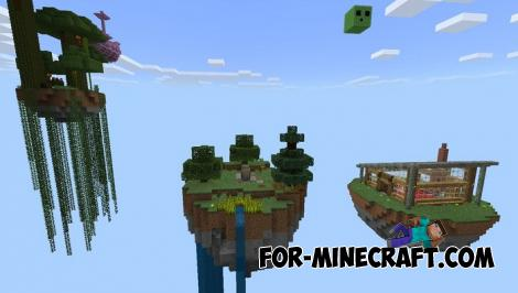 Advanced Skyblock Map for Minecraft PE 1.10