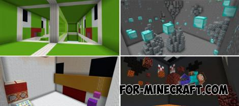 YT Parkour Map for Minecraft 1.11