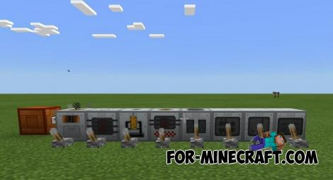 Advanced Machines Mod for Minecraft PE (IC2)