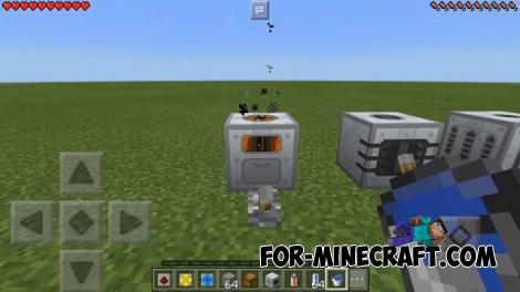 Advanced Machines Mod for Minecraft PE