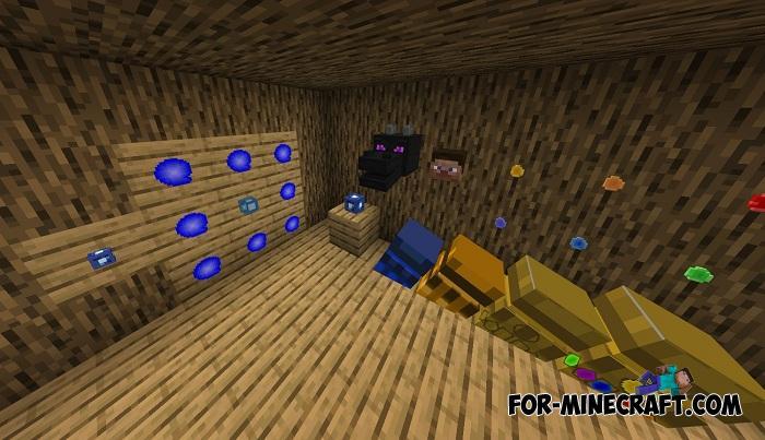 Thanos Infinity Gauntlet Addon v3 for Minecraft Bedrock