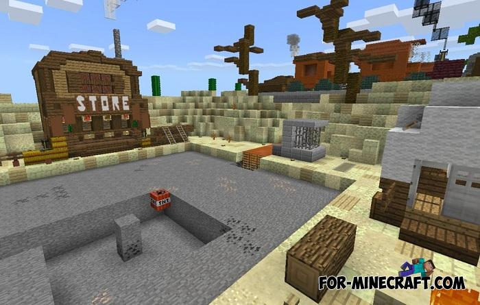 Multiplayer Prison Map for Minecraft PE 1 11 0 7+