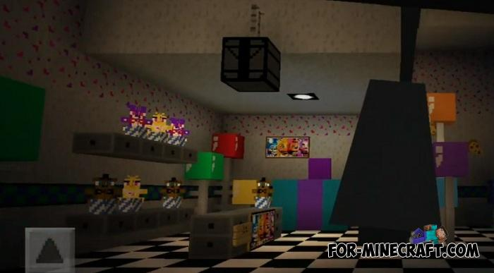 FNAF 2 Map for Minecraft PE 1 11 X