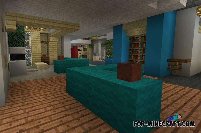 How to decorate a house in minecraft pe | How to make a Cake in