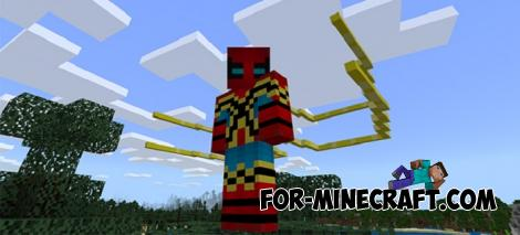 Spider Suits Skin Pack for MCPE 1.11.0.3+