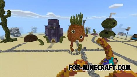 Bikini Bottom for Minecraft PE 1.11