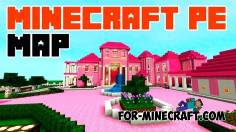 Pink Mansion for Minecraft PE 1.11