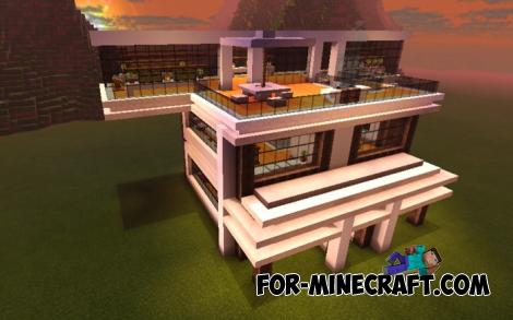 Instant Mansion Addon for MCPE 1.10/1.11