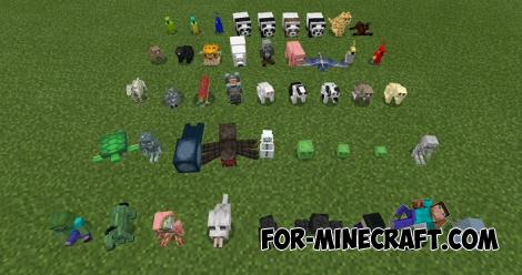 Plushies Addon for Minecraft PE 1.11.0.4