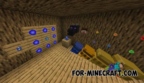 Thanos Infinity Gauntlet Addon v3 for Minecraft Bedrock Edition 1.11