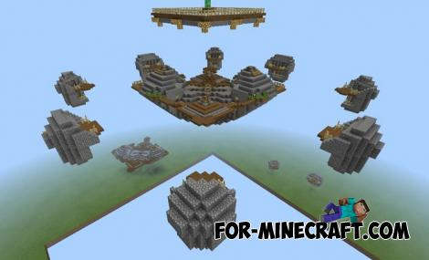 Advanced SkyWars Map for Minecraft PE 1.11.0.5