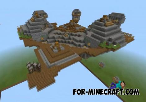 Advanced SkyWars Map for Minecraft PE 1.11