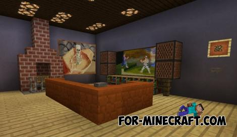 Smart Mansion for Minecraft PE 1.10 and 1.11
