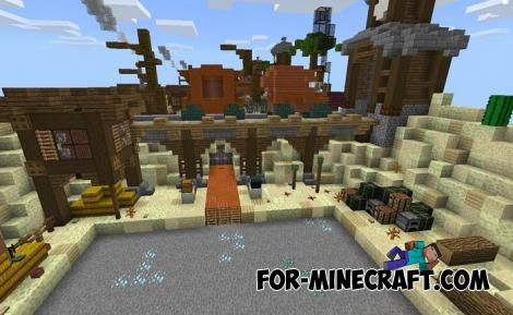 Multiplayer Prison Map for Minecraft PE 1.11