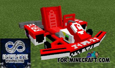 Cars Mod Pack for Minecraft PE 1.10 1.11