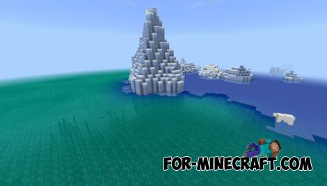 Better Water Colors for Minecraft PE 1.10.0 and 1.11.0.7