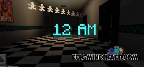 FNAF 2 Map for Minecraft PE
