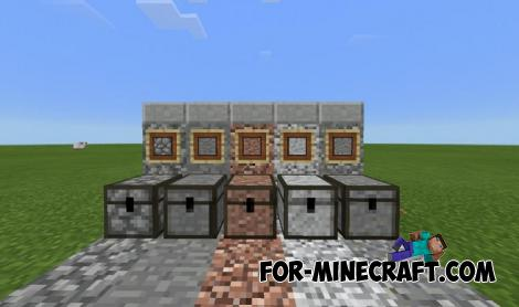Stone Chest Mod for Minecraft PE
