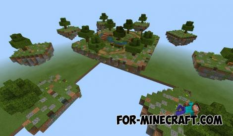 Jungle SkyWars Map for Minecraft PE 1.11