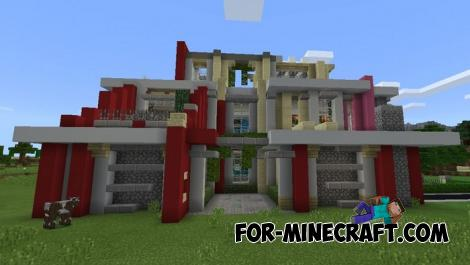 Bright Mansion for Minecraft PE 1.11.0.8