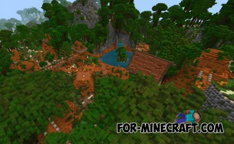Fortnite BR Map for Minecraft PE 1.11