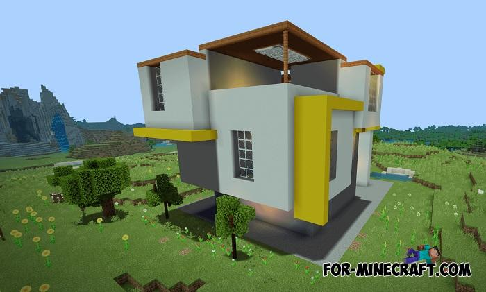 . Modern Style House for Minecraft PE 1 11 0 10