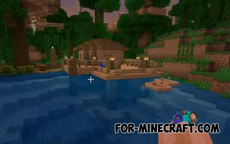 Jungle Village Map for Minecraft PE 1.11.0.9