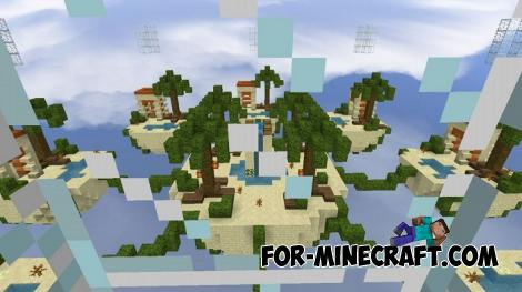 Sandy SkyWars Map for Minecraft PE 1.11