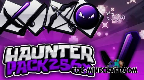 Haunter Texture Pack for Minecraft PE