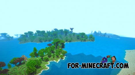 Triple Extremes Map for Minecraft PE 1.11